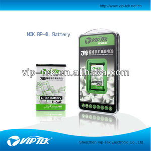 rechargeable li ion 1650mah battery for nokia BP-4L factory