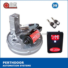DC motor 24V 100W 100kg remote control automatic electric central mounted roller door motor