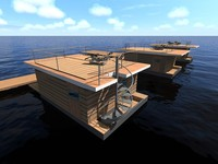 Floating homes - ships - other boats