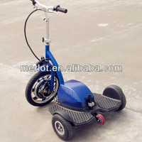 three wheel battery powered bumper electric tricycle