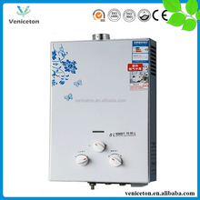 Veniceton 2016 cheap instant universal Biogas Gas Water Heater With Best Price For Sale