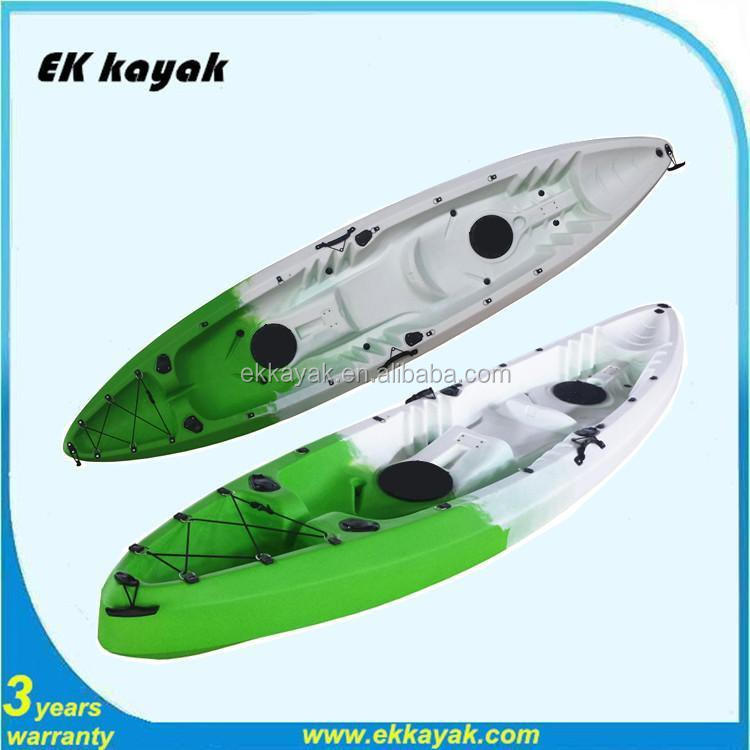 Plastic and cheap fishing kayak boat for sale