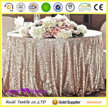 decorative round sequin table cloth sequin table cover for wedding