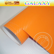 3dcar modificine vinyl wrap 3D Carbon Fiber Car Sticker Vinyl Roll exported to usa mainly