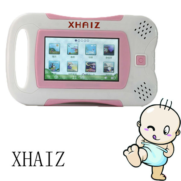 <XHAIZ>2013 hot sale kids learning computer 4GB english chinese learning promotional toy