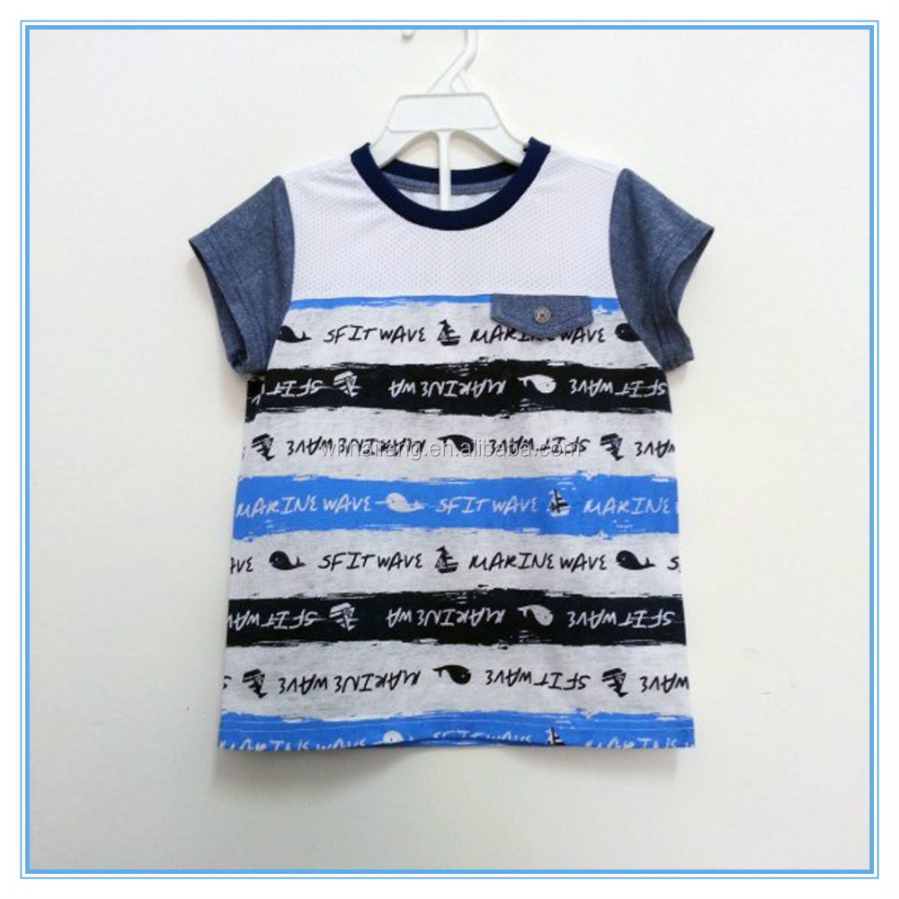 Boys kids custom animal printed t shits design latest t for Personalized t shirts for kids cheap