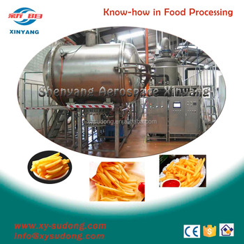 industrial vacuum frying machine
