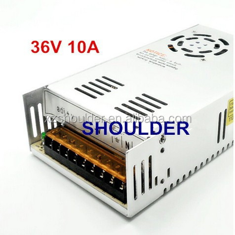360W 36V 10A Switching power supply for LED Strip light AC to DC