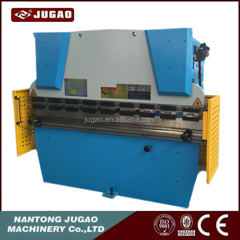 Export to metal plate folding machine with CE 4m sheet press brake machine back gauge cnc control