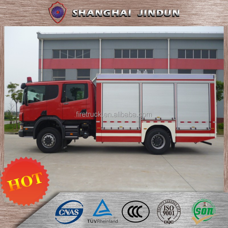Industrial Emergency Rescue Fire Vehicle