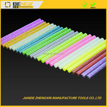 glass colorful hot melt glue stick