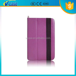 Special design leather flip case for samsung galaxy tab p1000