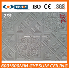 2016 Manufacturer New Design Aluminium Foil Backed Gypsum Board Ceiling Styles PVC Gypsum Board Ceiling