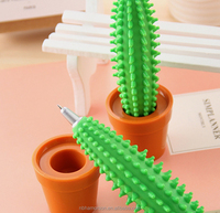 Cactus Pen YES novelty plant flower logo special Sedex OEM/plant pens