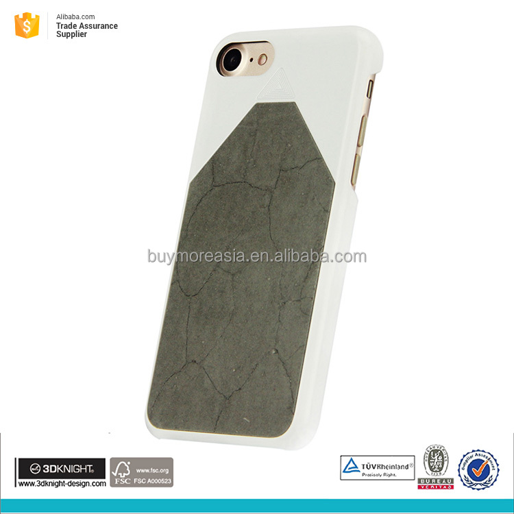 Cell phone cover for mobile phone 7 for iphone case white cement