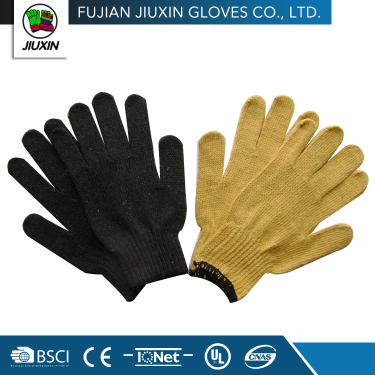 Color optional comfortable and widely used cotton gloves