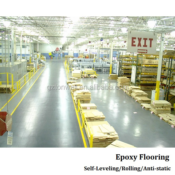 Water based factory epoxy paint floor