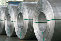 Aluminum Wire Rod for Conductor and electrical Usage,Round Aluminum Pole, aluminium wire price