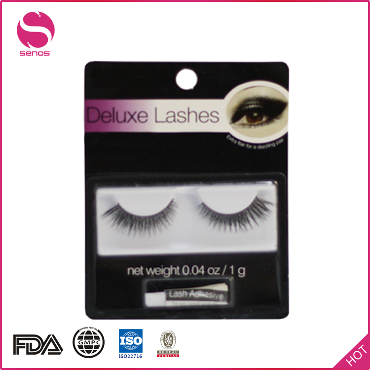 Senos 100% Artificial Siberian Mink Fur Strip False Eyelashes 3D Eyebrow Tattoo Wigs Eyebrow