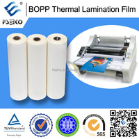 small roll bopp thermal lamination film/ small roll film