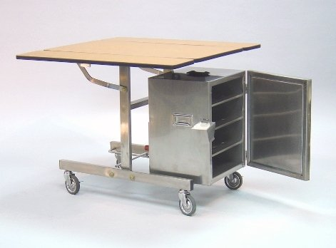 Room Service Trolley & Food Warmer