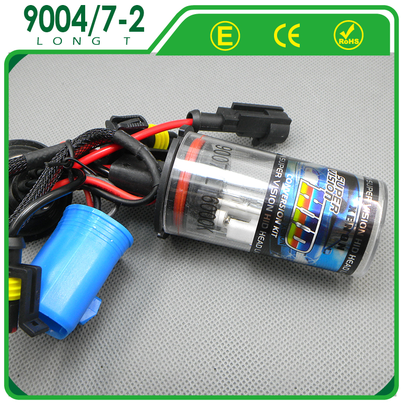 9004/9007 with halogen High Quality HID Xenon lamp for Car with 3K 4.3K 5K 6K 8K 10K 12K 15K 30K Blue Green Purple Pink