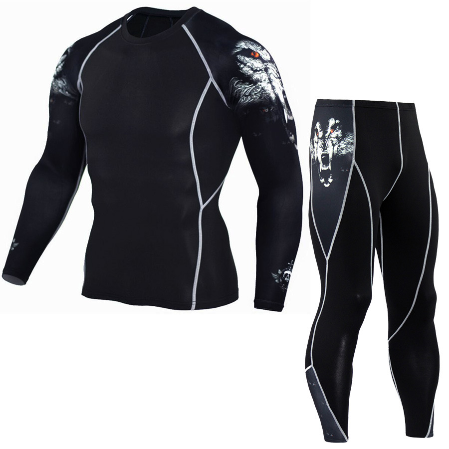 long sleeve cycling jersey and pants sets full sublimation printing bike team sportswear