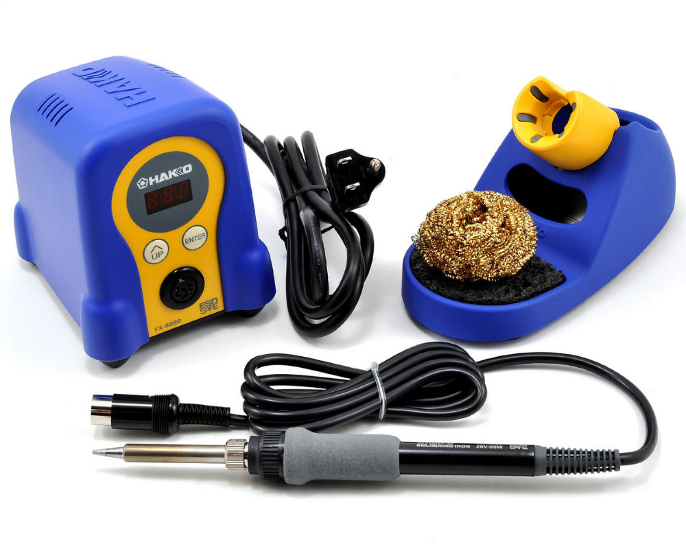 Hakko Digital FX888D & Plato 170 bundle, includes Soldering Station & Plato 170 cutter