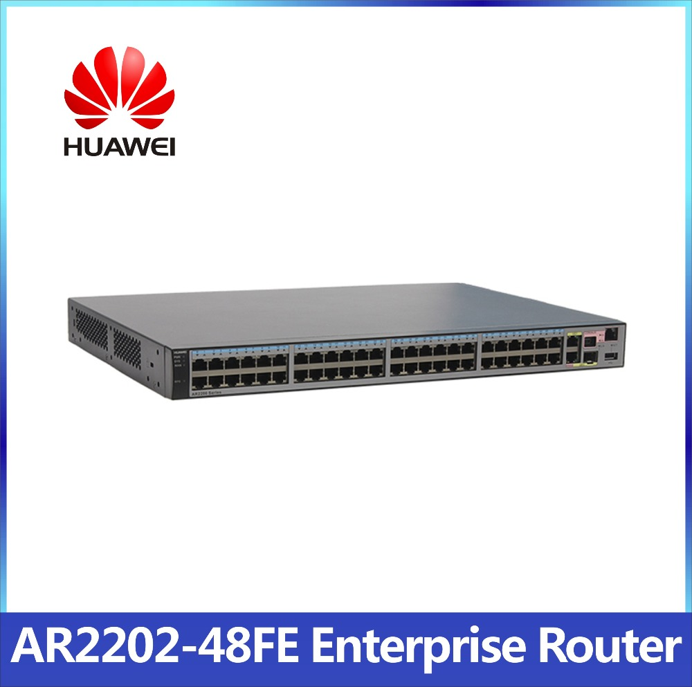 HUAWEI AR2202-48FE VDSL VoIP Modem Router with PBX SIP server