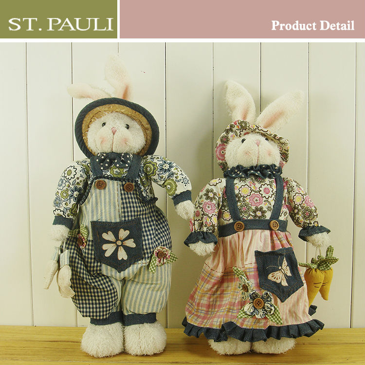 New design 16inch plush easter bunny
