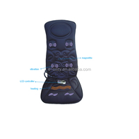 heating and vibration car and home massage cushion car seat massage cushion