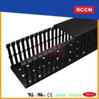 Made In China Perfect Design Black Trunking Wiring Systems