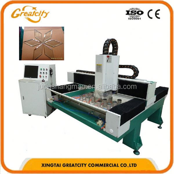 double glazing production machinery Flat Glass Border Polishing Machine/Glass Edge Polishing Machine