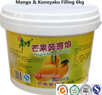 mango konnyaku filling jam for bakery decoration 5kg