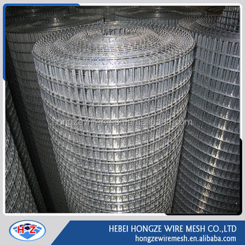 Good quality 8x8 galvanized welded wire mesh
