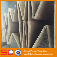 Galvanized Welded Gabion Basket Hesco Bastion Wall, hesco barriers system fence