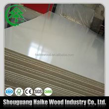 2mm 6mm 9mm 18mm plain mdf board/mdf/white melamine laminated mdf price