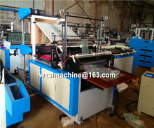 Cold sealing two lines/double layer shopping bag making machine