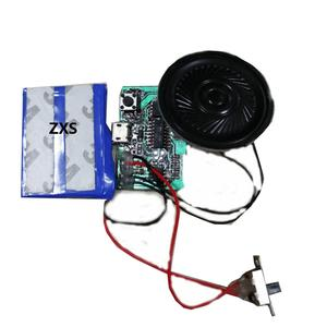 Custom Programmable USB MP3 Sound Module for Greeting Cards Low Cost Electronic Item