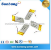3.7v 340mAh small polymer lithium battery for bluetooth/MP3