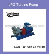 LPG transfer pump LPG gas pump with temperature controls