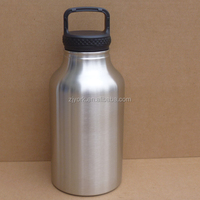 Leak Proof easy carrying 64oz hydro flask powder coating with customized color BPA free thermos drinkware