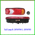 Suitable for Volvo Truck Tail Light 20769784 20769783 Lens 20537280