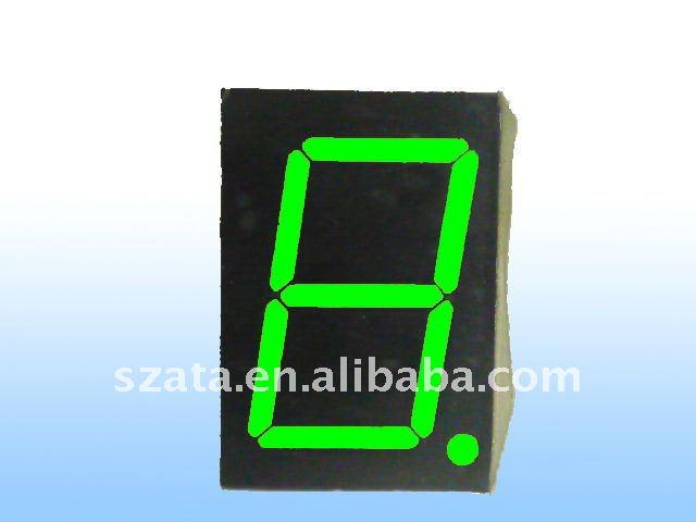Newly design led display tube 0.6inch 1digit led display