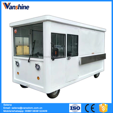 Mobile commercial food cart with wheels electric mobile food carts price