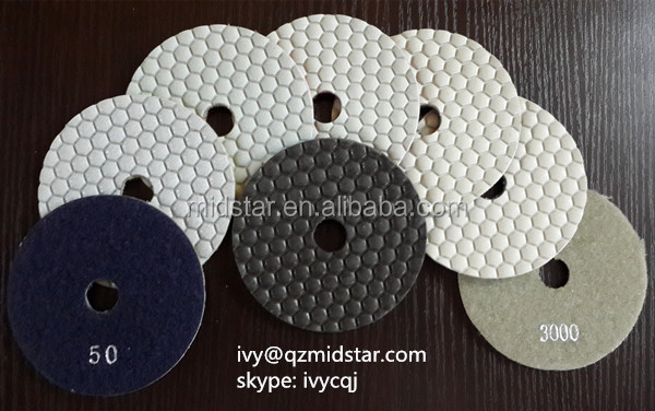 Midstar abrasive nylon scouring pad for floor polishing