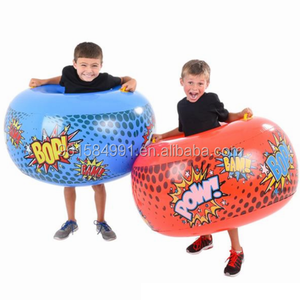 outdoor 36'' inflatable belly buddy bumper ball for kids toy play