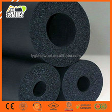 Pipe Insulation Thermal material Closed Cell Elastomeric Nitrile Rubber Foam Tube Insulation