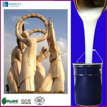 Silicone rubber production of the world famous sculpture mold
