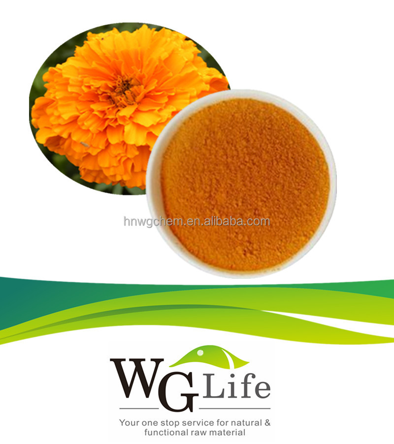 Natural Marigold Extract Xanthophyll / Lutein Powder 10%